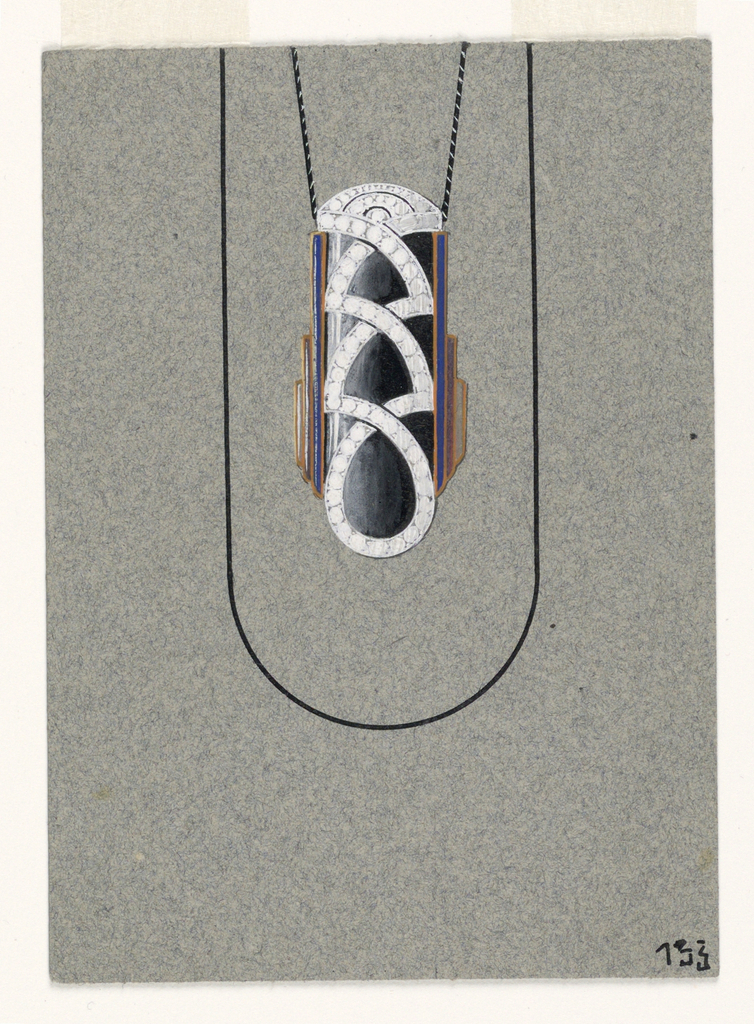 Drawing, Pendant Design, September 1927