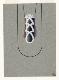 Drawing, pendant design, September 1927