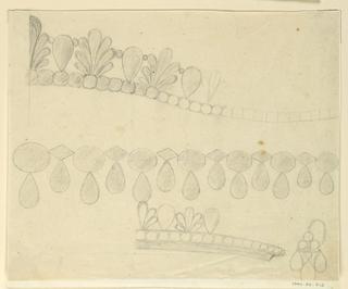 Drawing, Design for diadem, 1800–1810