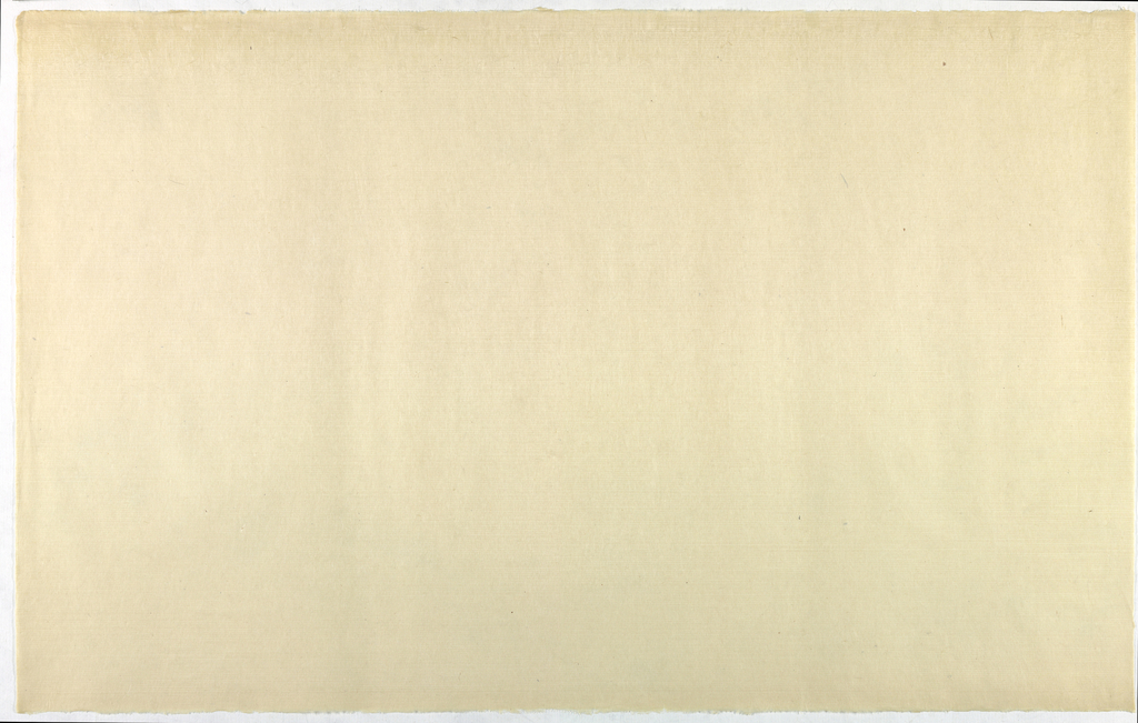 Decorated Paper, off-white opaque, ca. 1940