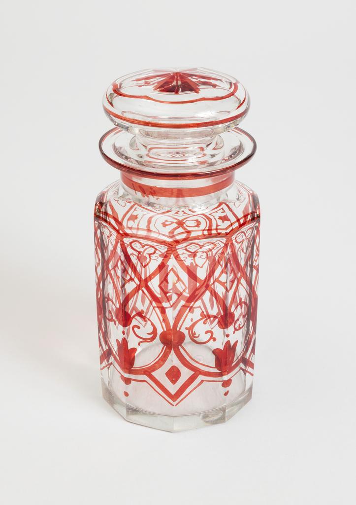 Condiment Bottle (England), ca. 1870