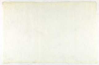 Decorated Paper, white with fibre, ca. 1940