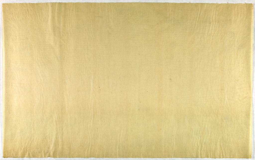 Decorated Paper, off-white translucent, ca. 1940