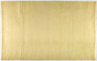 Decorated Paper, off-white translucent, ca. 1940