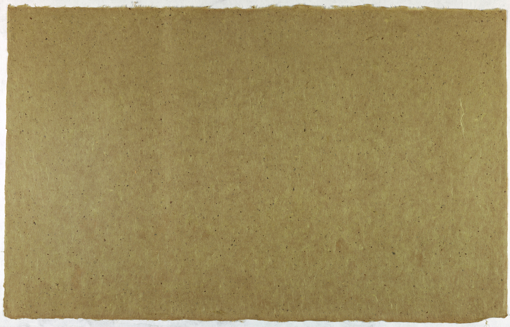 Decorated Paper, tan with flecks, ca. 1940