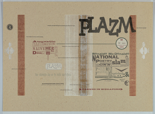 Magazine Cover, Plazm