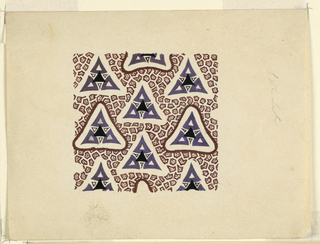Drawing, Design for Textile, ca. 1808–10