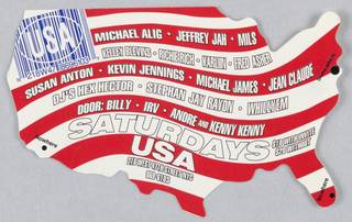 Flyer, Saturdays USA, 1994