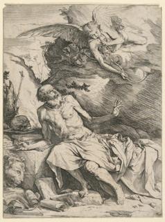 Print, Saint Jerome, ca. 1620