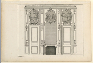 Print, Panelling of the Assembly Room, ca. 1727