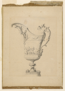 Drawing, Design for an Ewer