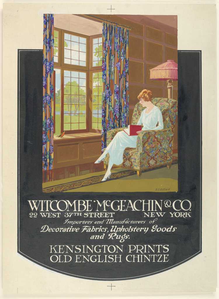 Drawing, Advertisement for Witcombe, McGeachin & Co., New York