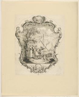 """Print, Design for Fan, from """"Écrans à Main"""""""