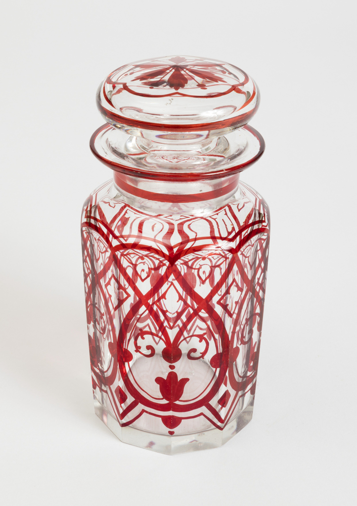 Condiment Bottle (England), ca. 1870