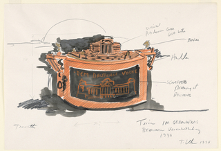 Drawing, Decorative Arts and Design, 1990