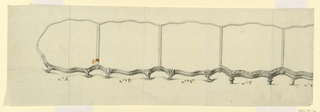Drawing, Variations of design for surtout de table (in two parts), ca. 1770–75