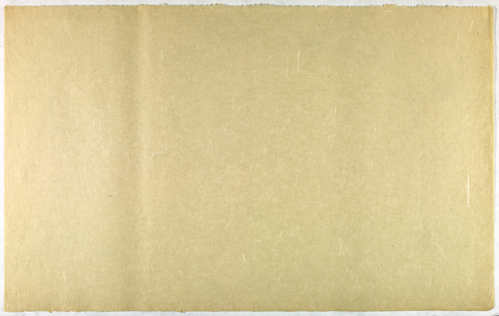 Decorated Paper, off-white with fibre, ca. 1940