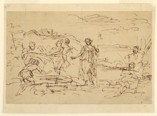 Drawing (Italy), ca. 1715