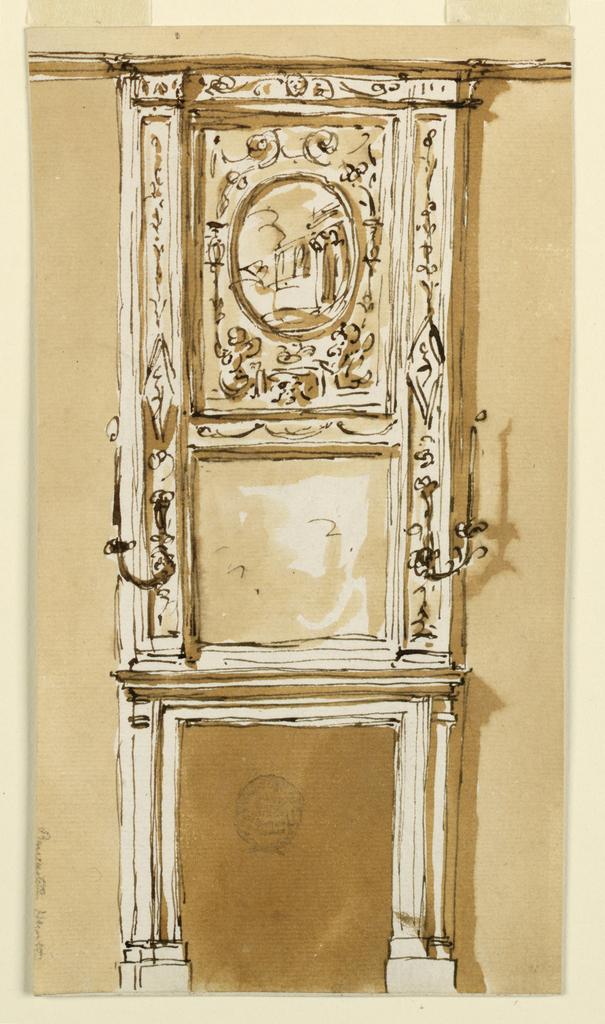 Drawing, Mantelpiece