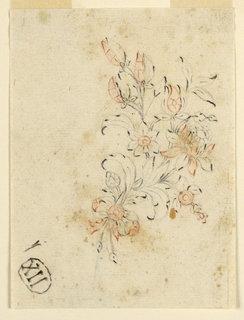 Drawing, Design for a brooch, 1750–1800