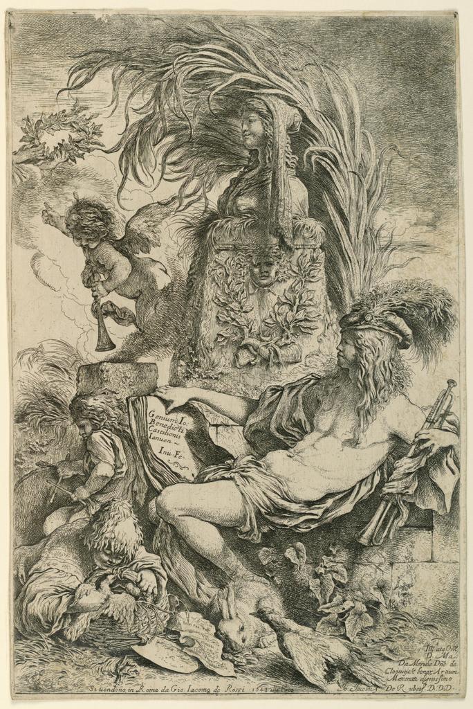 Print, The Genius of Castiglione