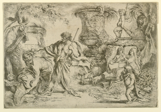 Print, Allegory of Transience