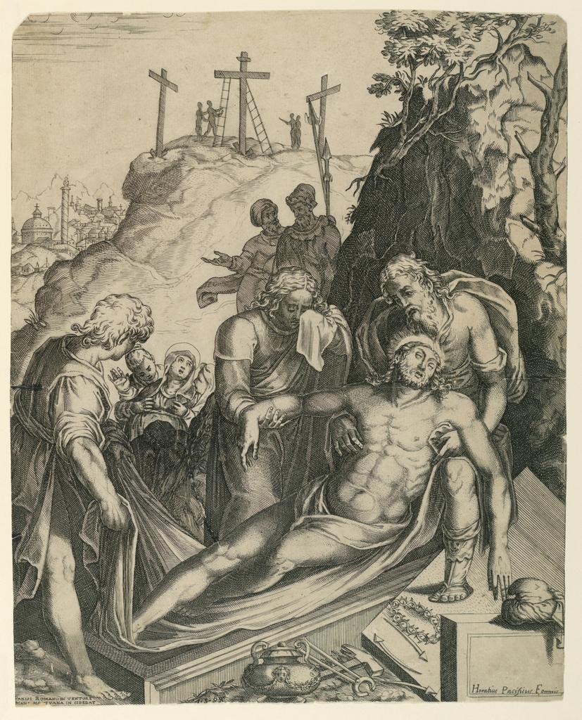 Print, The Entombment