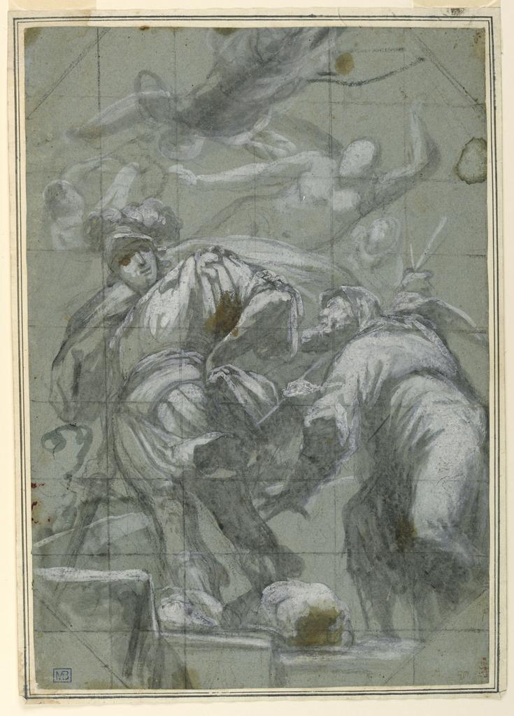 Drawing, Beheading of Saint Paul