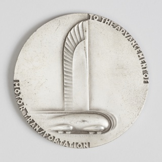 Commemorating the Twenty-Fifth Anniversary of General Motors, 1908-1933 Medal