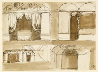 Drawing, Decorations for a bedroom