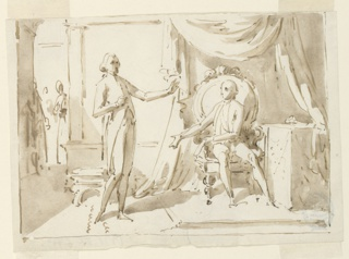 Drawing, An Audience