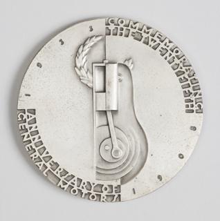 Medal Commemorating the Twenty-Fifth Anniversary of General Motors, 1908-1933 Medal