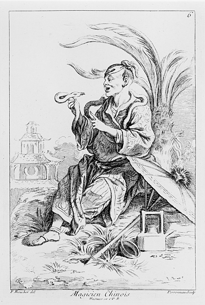 Plate no. 5 in work entitled Recueil de diverses Figures Chinoise.