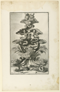 "Print, Epergne, from ""Disegni Di, 1714"