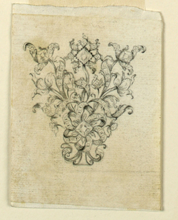 Drawing, Hair Ornament, 1755–75