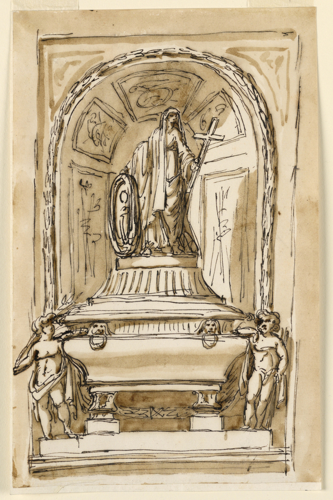 Drawing, Monument
