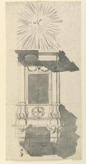 Drawing, Pulpit, 1775
