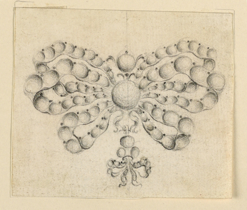 Drawing, Design for a pendant, 1750–75