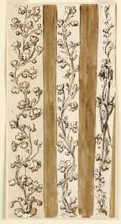 Drawing, Pilaster strips