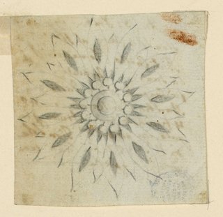 Drawing, Design for a brooch, ca. 1794