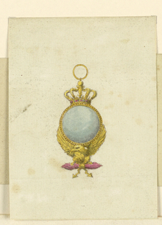 Drawing, Pendant, 1810–15