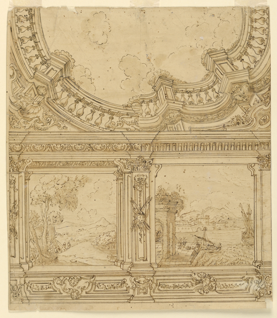Drawing, Project for a Painted Drawing Room