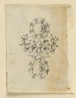 Drawing, Design for an earring, ca. 1780