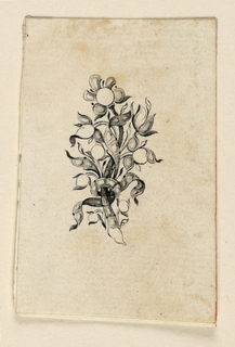 Drawing, Design for a brooch, ca. 1765