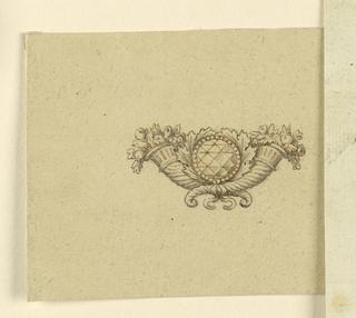 Drawing, Brooch, 1820–30