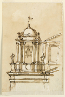 Drawing, Steeples