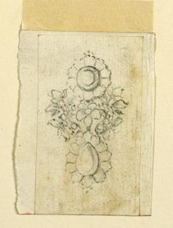 Drawing, Earring, ca. 1772