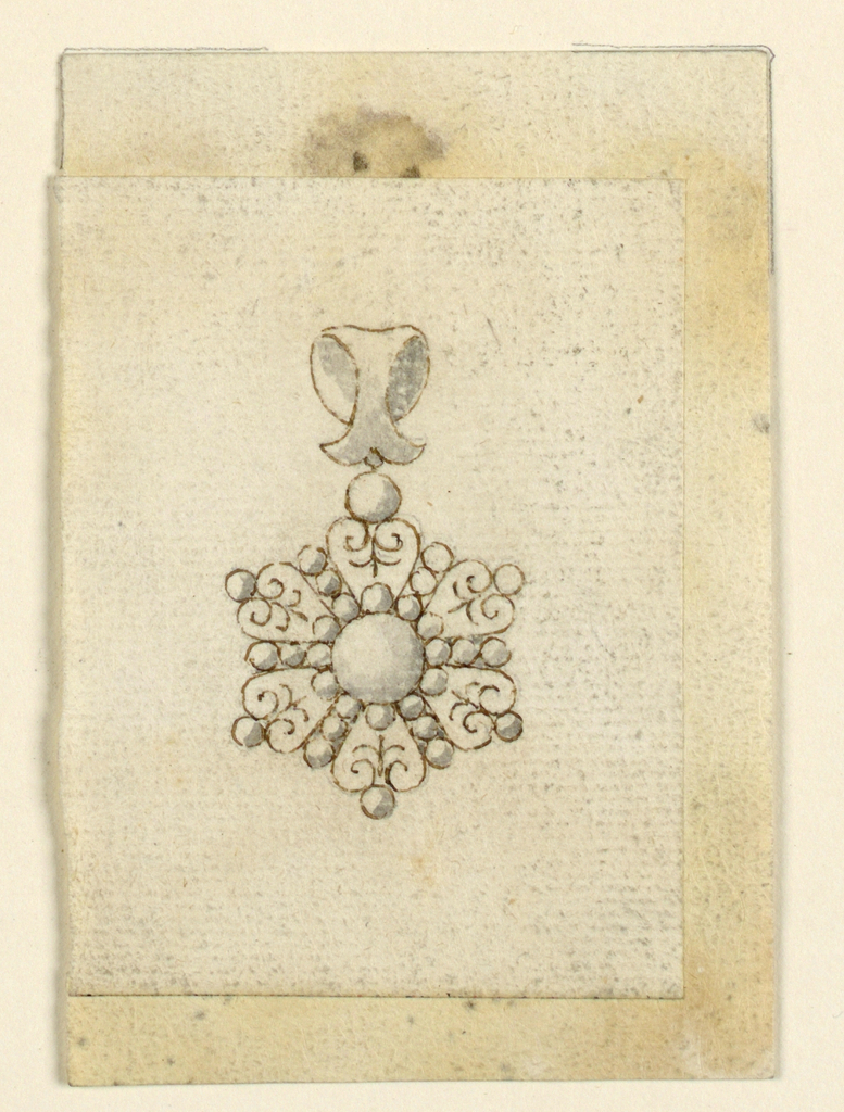 Drawing, Pendant, 1825–50