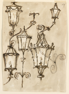 Drawing, Lanterns