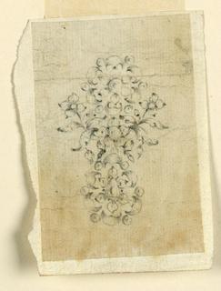 Drawing, Earring, ca. 1770